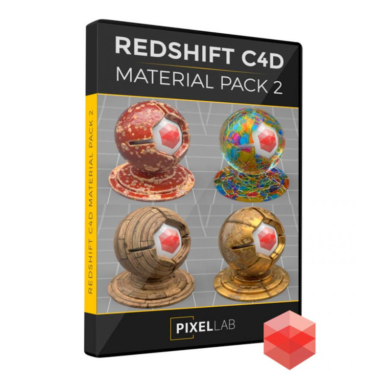 The Pixel Lab Redshift Material Pack for C4D 2