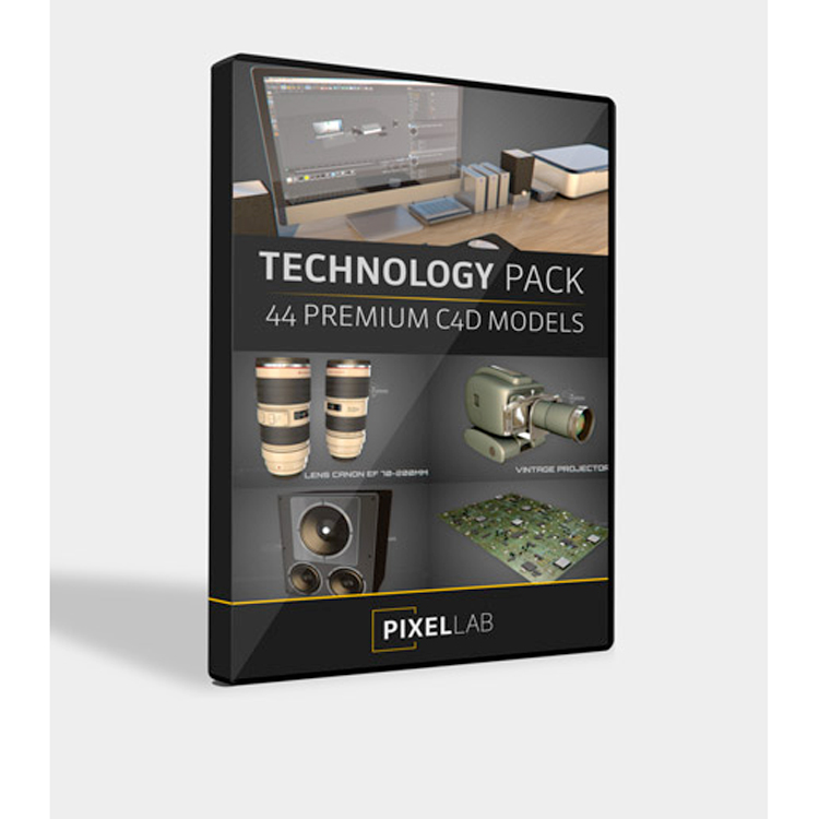The Pixel Lab Technology Pack for Cinema 4D