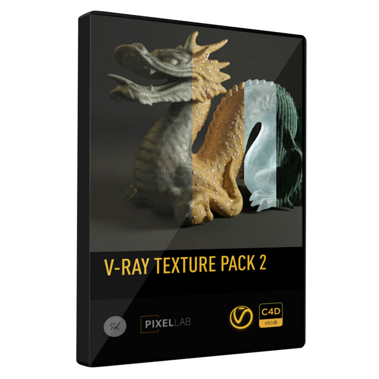Renderking V-Ray Texture Pack 2 for CINEMA 4D