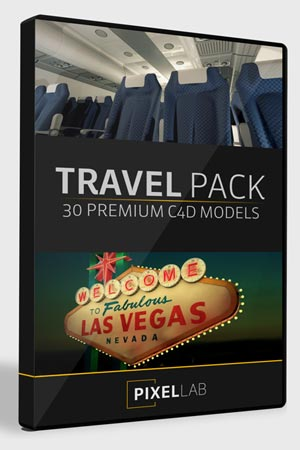 Pixel Lab 3D Travel Pack