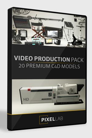 Pixel Lab 3D Video Production Pack