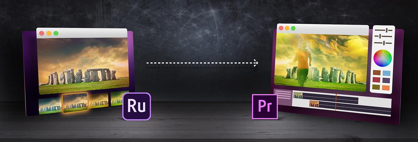 Edit Premiere Rush files in Premiere Pro