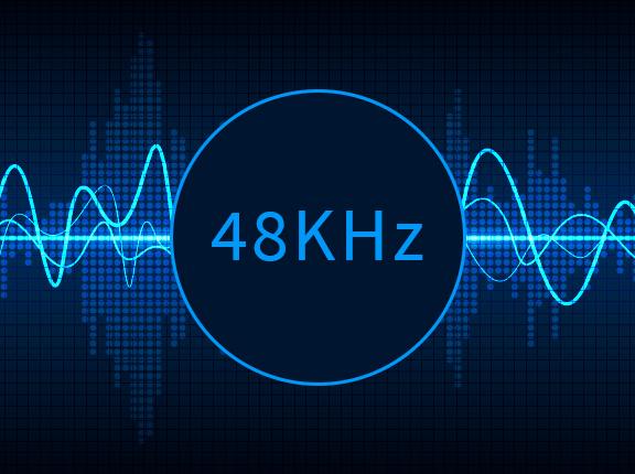 render audio 48khz