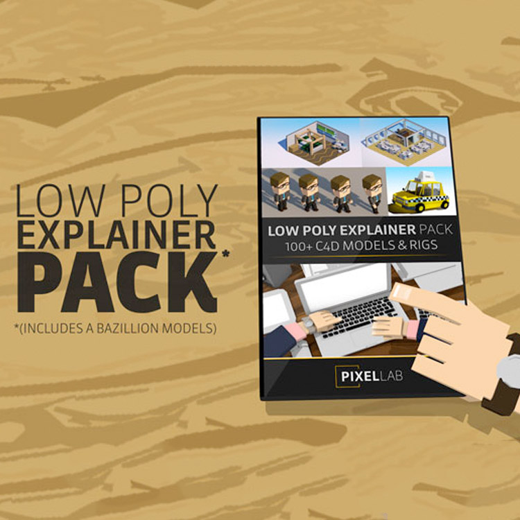 Pixel Lab Low Poly Explainer Pack