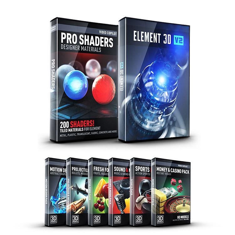 Video Copilot Element 3D 2.2 for Mac Review
