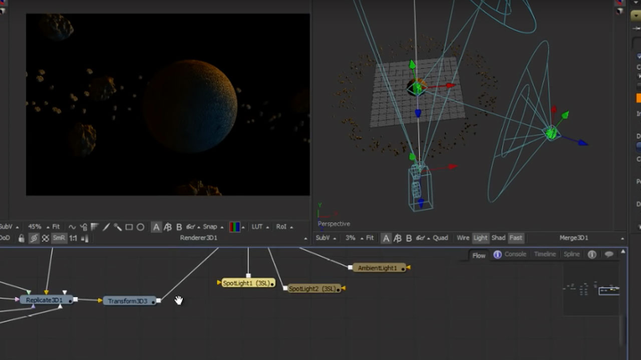 Create a Space Scene Entirely in Blackmagic Design Fusion