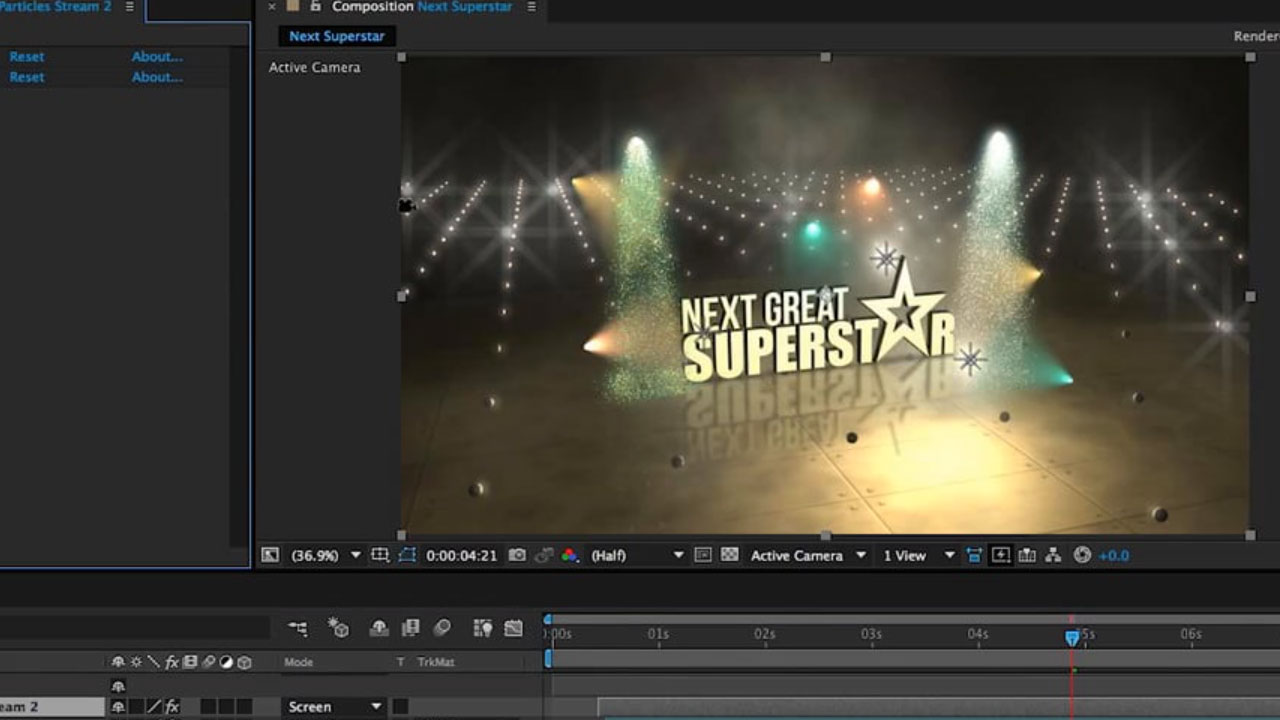 Design a Broadcast Motion Graphics Opener