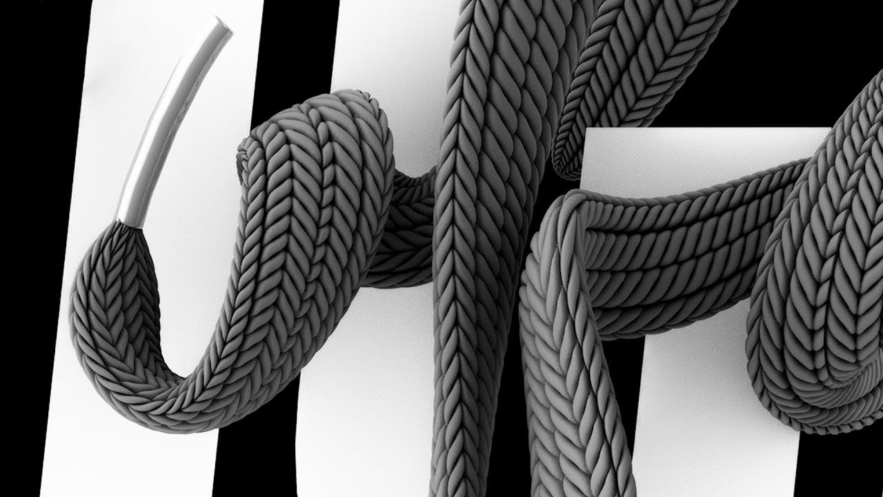 Shoelace Displacement in Cinema 4D