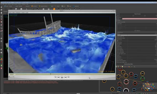The Next Limit RealFlow 2014. How to work with the new Ocean Force Field daemon