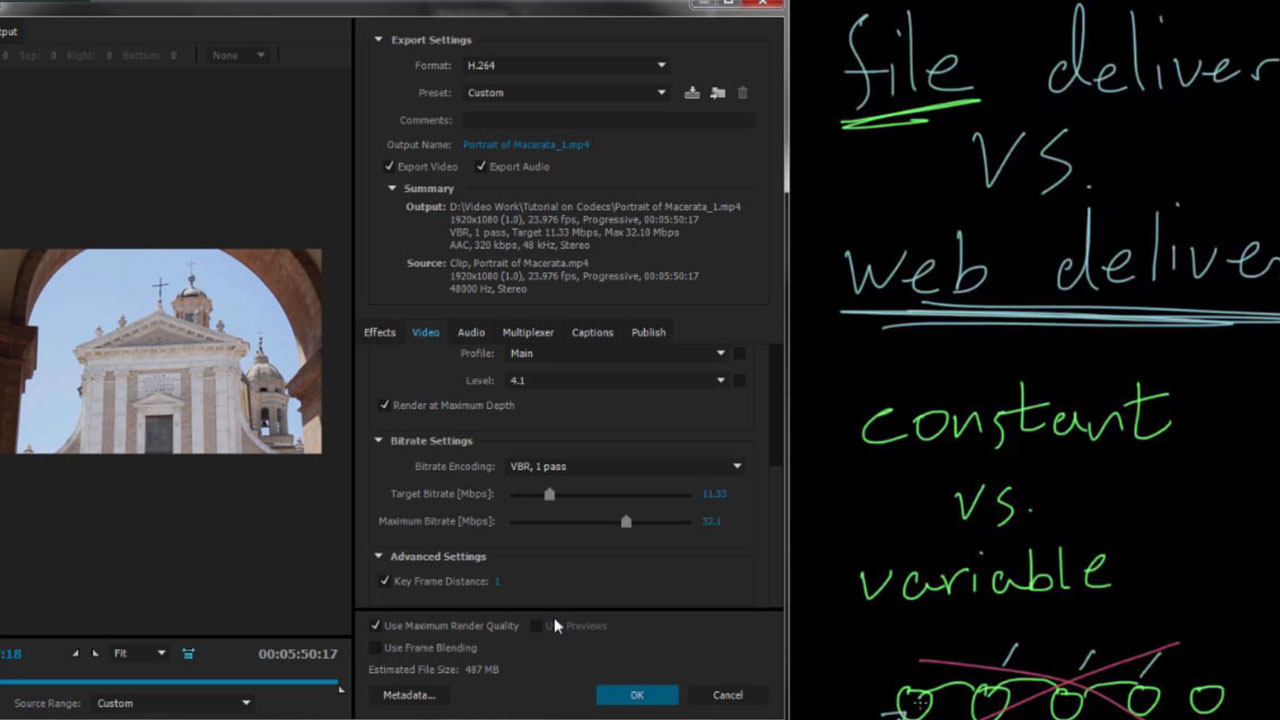 Exporting and Rendering! Tips and Settings for Adobe Media Encoder, ProRes, H265, YouTube