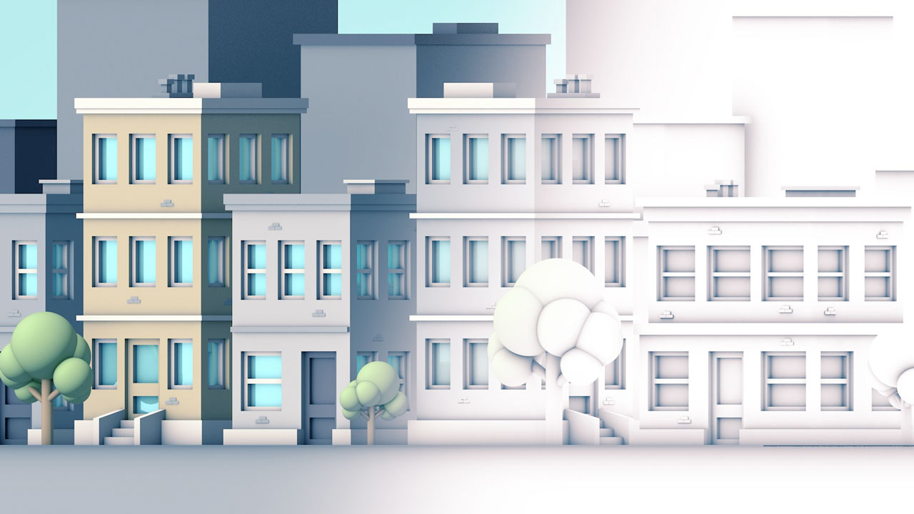 C4D: Optimize Ambient Occlusion Renders in Cinema 4D