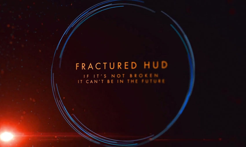 After Effects - Fractured HUD Title Sequence