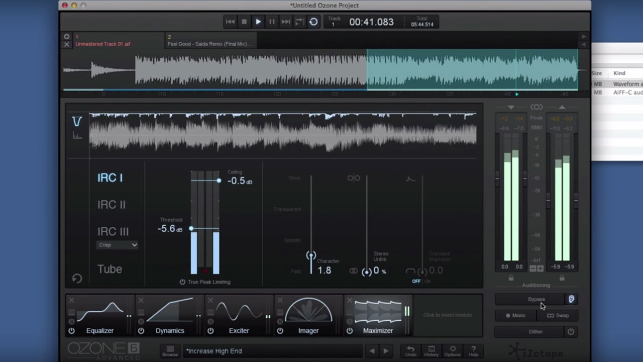 iZotope Ozone - 10 Steps to a Quick Master