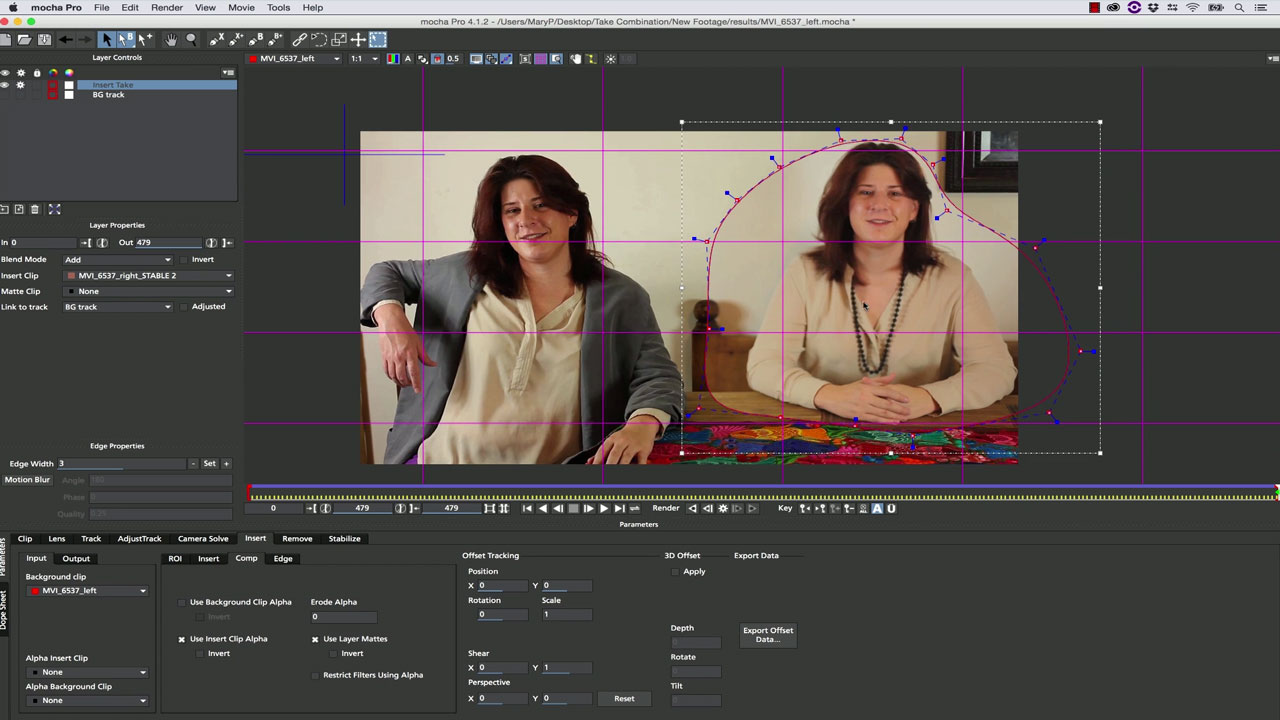 mocha: Take Combination with mocha Pro and mocha AE