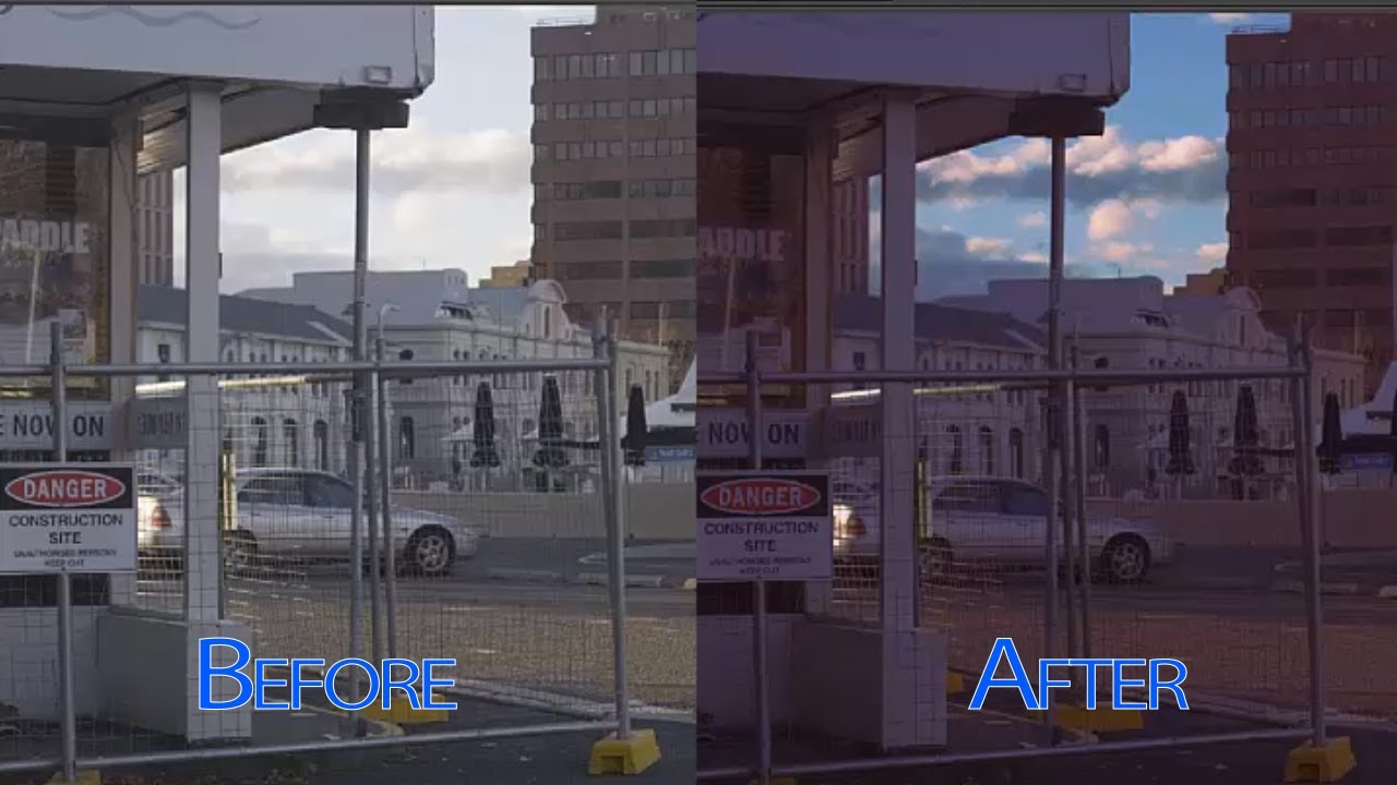 Bring out details in the sky with ease in After Effects