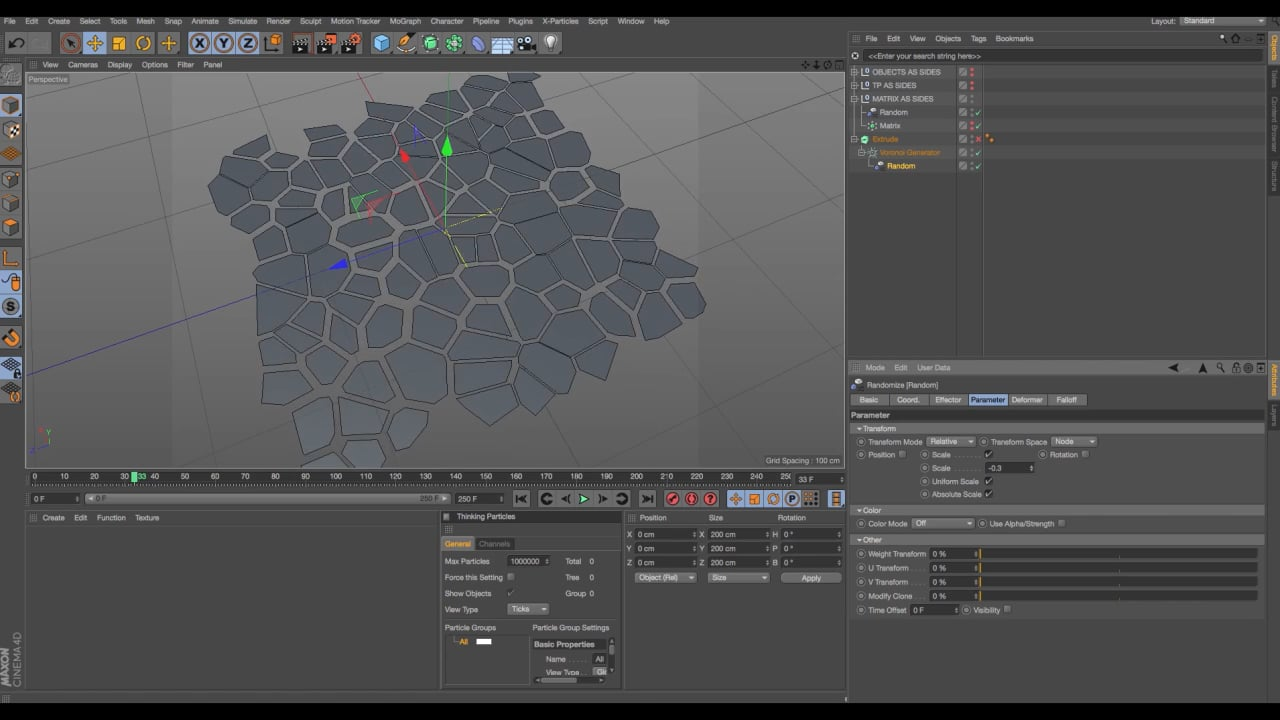 VoronoiGenerator for Cinema 4D