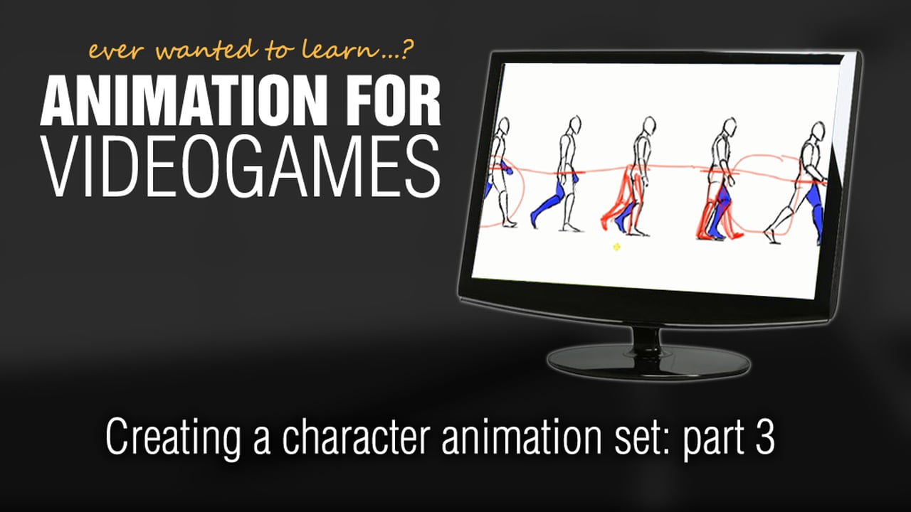 Animation for Videogames tutorial: Creating a character animation set in Maya