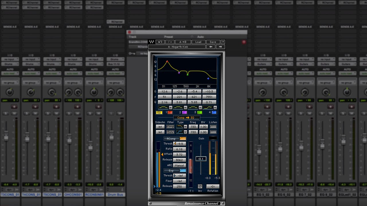 How to Mix with Just One Plugin – Waves Renaissance Channel