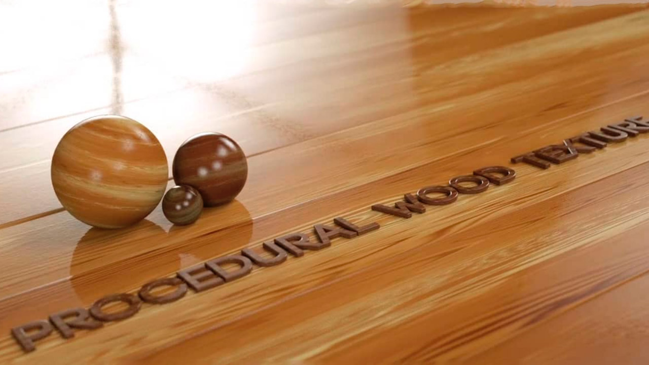 Creating a Procedural Wood Texture in After Effects and CINEMA 4D