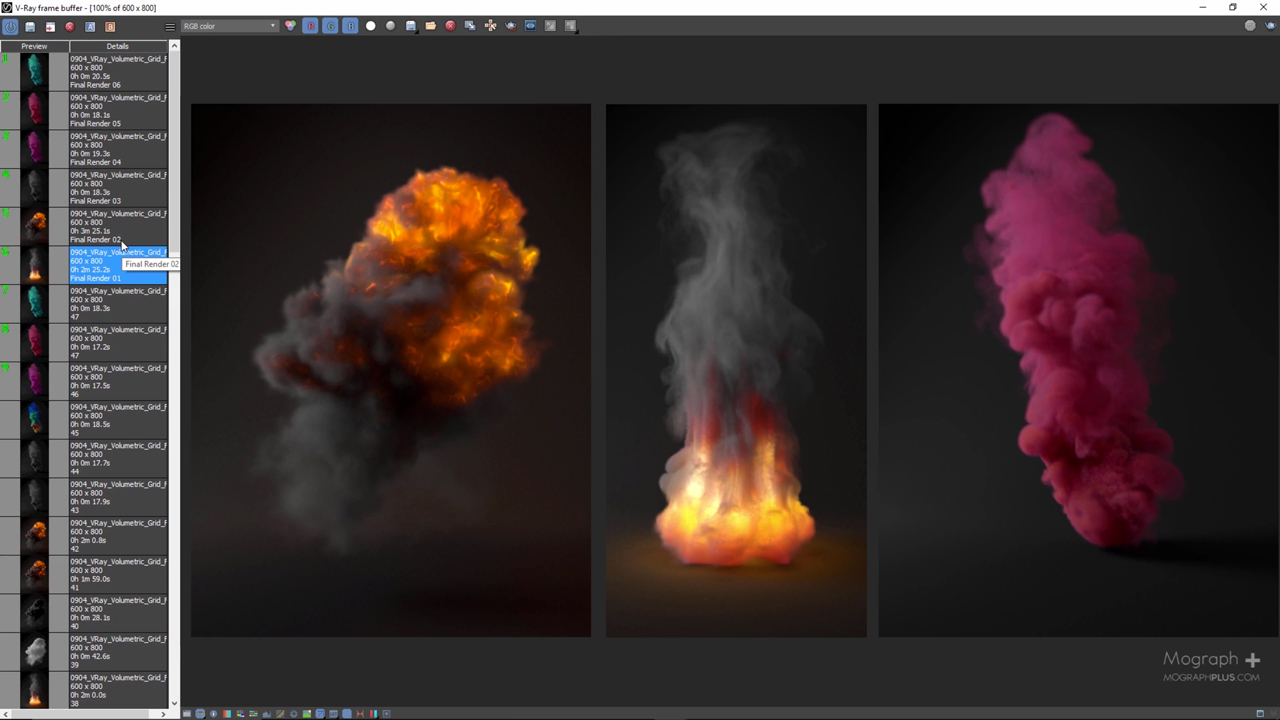 3ds Max: Rendering Realistic Explosion and Smoke in V-Ray for 3ds Max