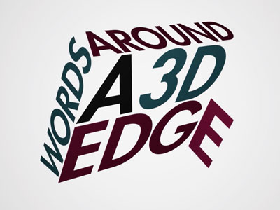 After Effects Video Tutorial: 3D Corner Text