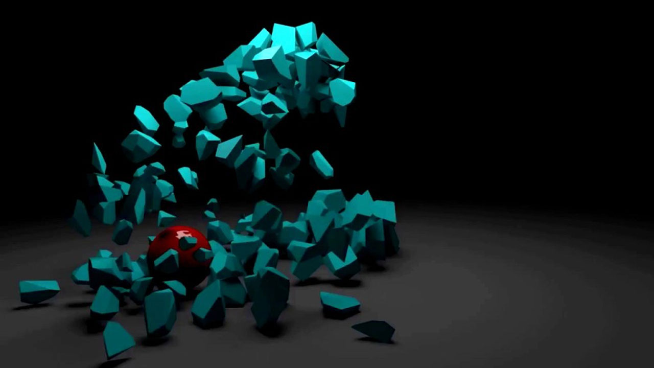 Breaking Objects in Modo Using Procedural Shatter