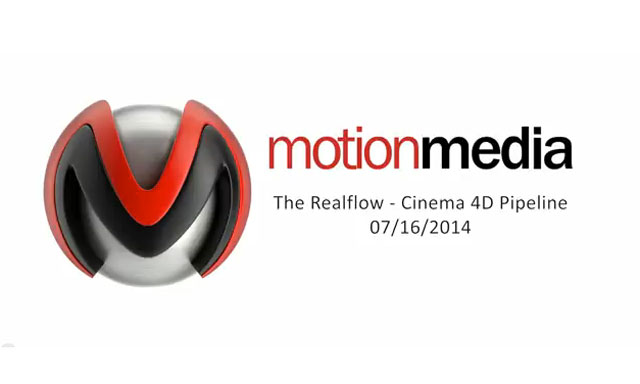 The Next Limit Realflow to MAXON CINEMA 4D Pipeline
