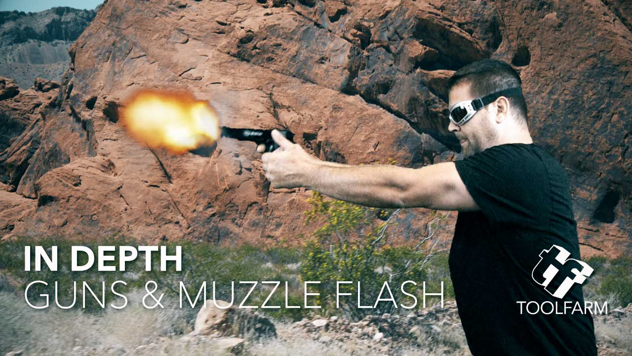 In Depth: Gun Fire and Muzzle Flash