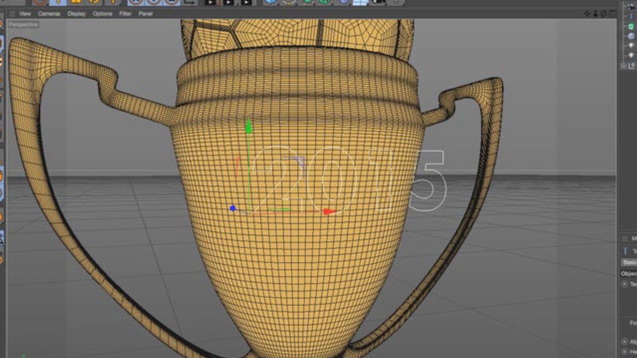 Cinema 4D Project Splines Onto an Object