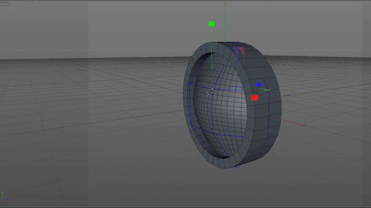 Cinema 4D Bezier Plane Object