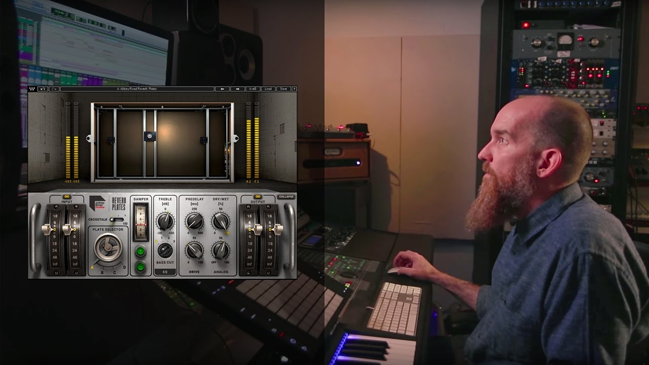 Abbey Road Reverb Plates Plug-in Tutorial with Producer Billy Bush