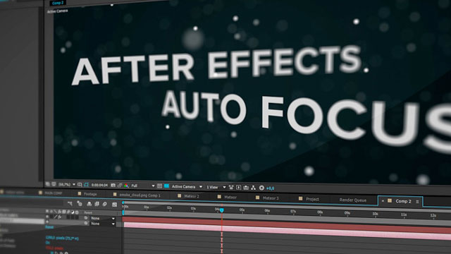 After Effects Tip: Link Focus Distance to Layer