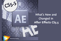 What's New and Changed in After Effects CS5.5