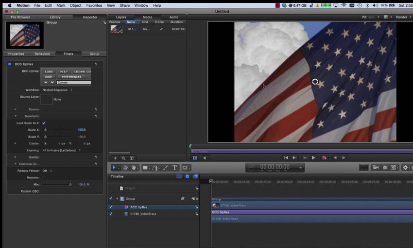 BCC: Up Rez in FCP X & Motion 5