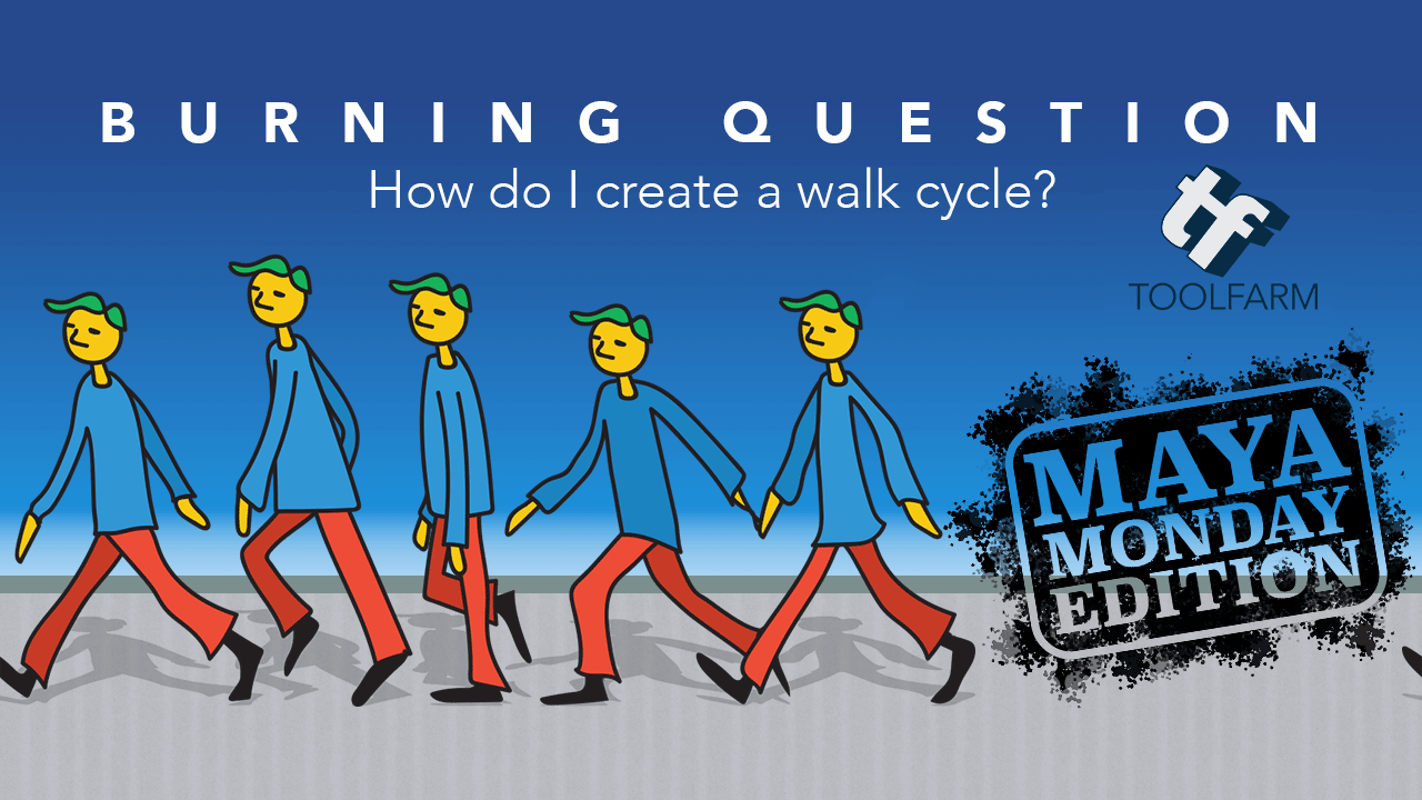 Creating a Walk Cycle in Maya
