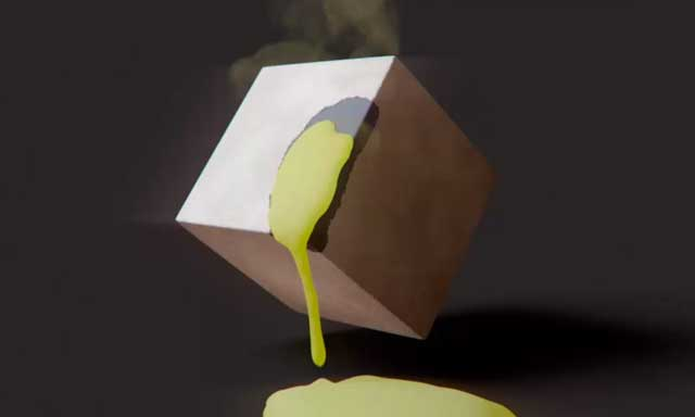 CINEMA 4D Acid Effect (Sticky Liquid)