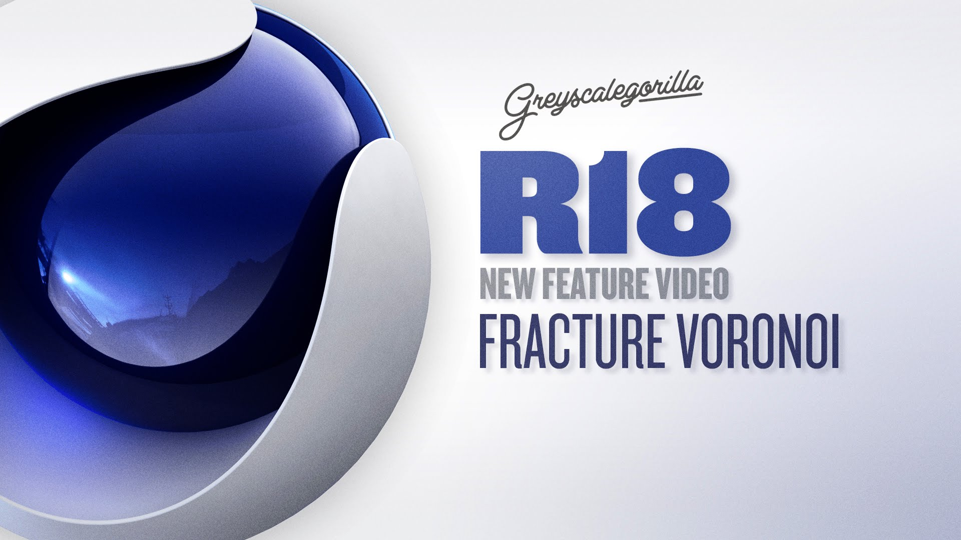 Cinema 4D R18 Voronoi Fracture - Break Objects In Cinema 4D
