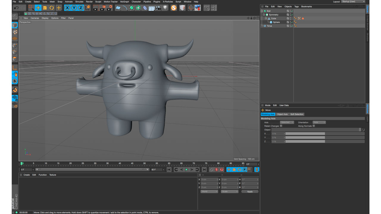 Eyedesyn Live Design: Modeling a Character in C4D parts 1 and 2