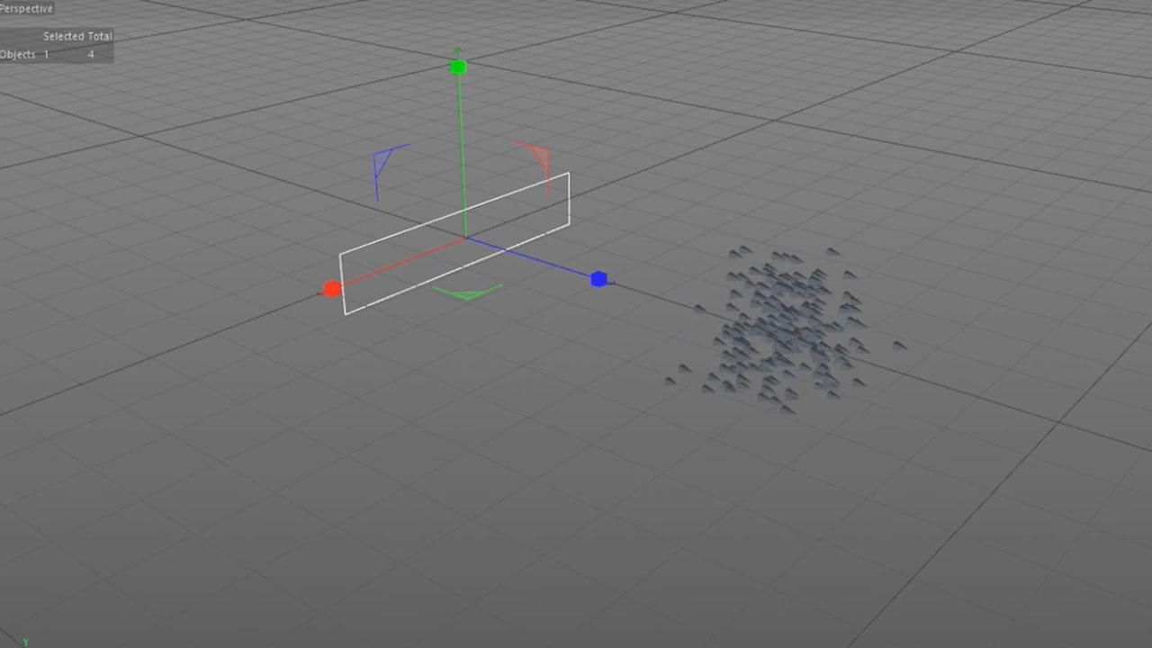 Cinema 4D: Create Simple Flocking Sims with C4D Flock Modifier