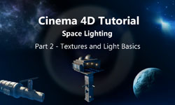 Creating and Lighting a Space Scene, Part Two - Textures and Basic Lights
