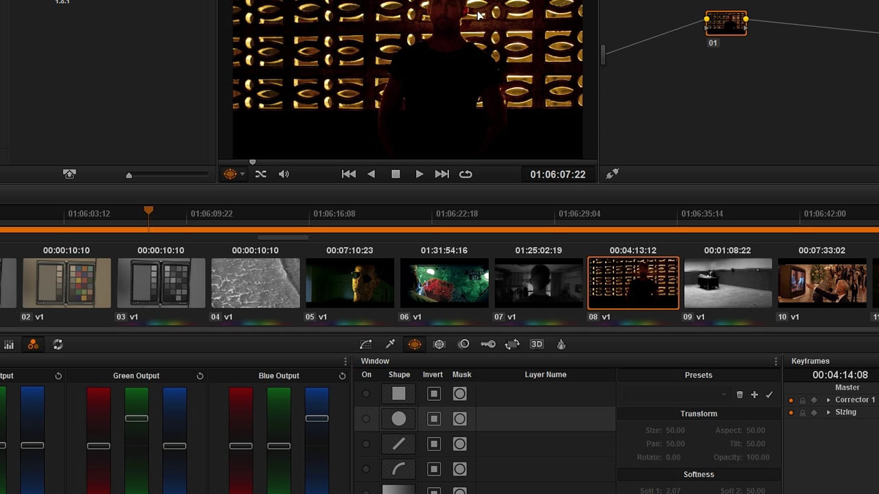 How to Convert Color Video to Monochrome in DaVinci Resolve