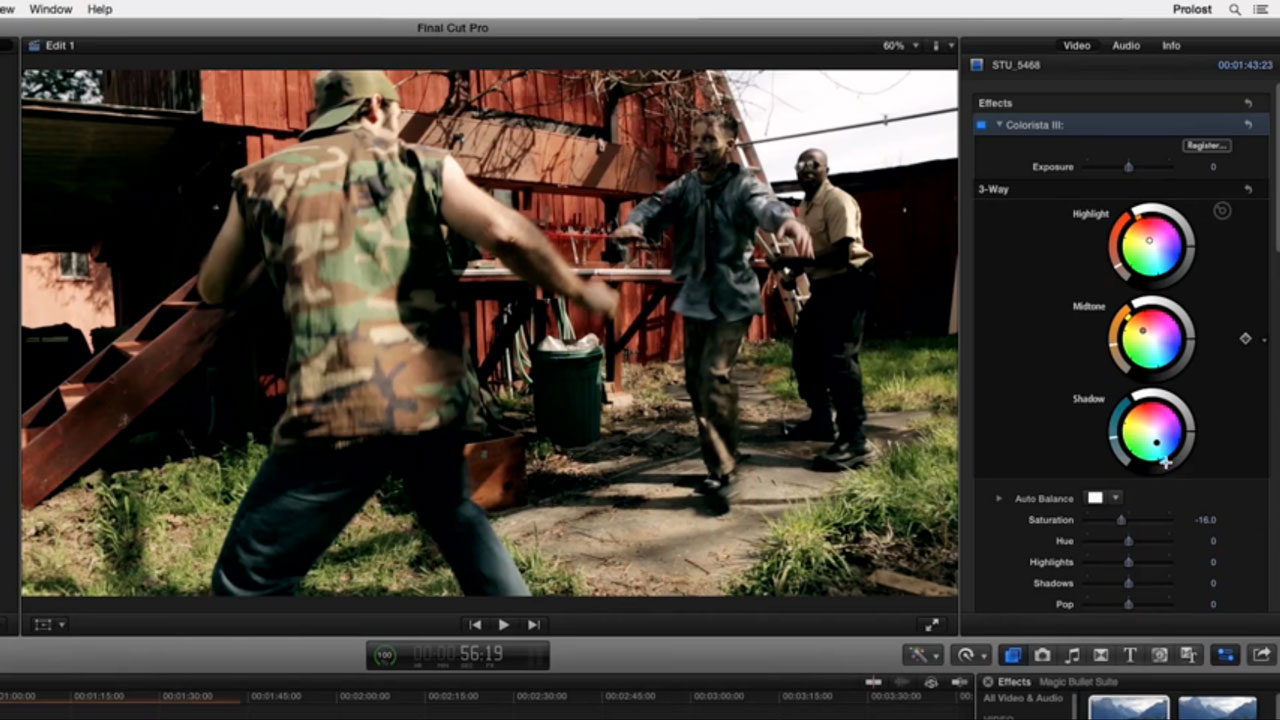 Red Giant Colorista III in FCPX