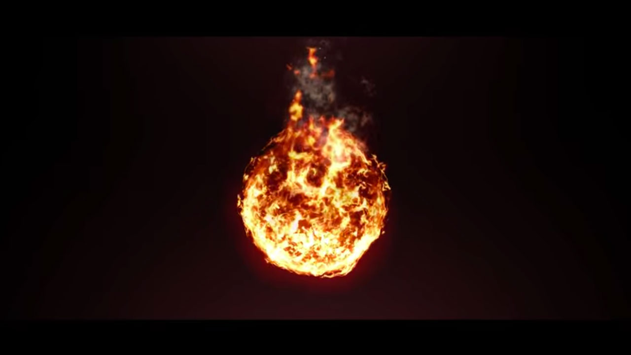 Create a Fireball with AE Native Tools