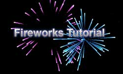 Tutorial: Create Fireworks With Particular Tutorial