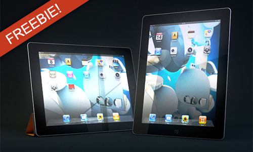 Freebie/Inspirations: iPad Model for CINEMA 4D + Andy Dawson's Reel