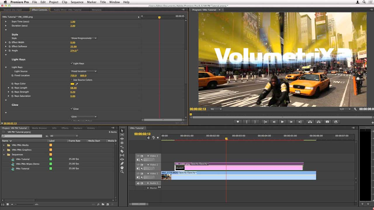 Premiere Pro: Idustrial Revolution Volumetrix and Particlemetrix Tutorial