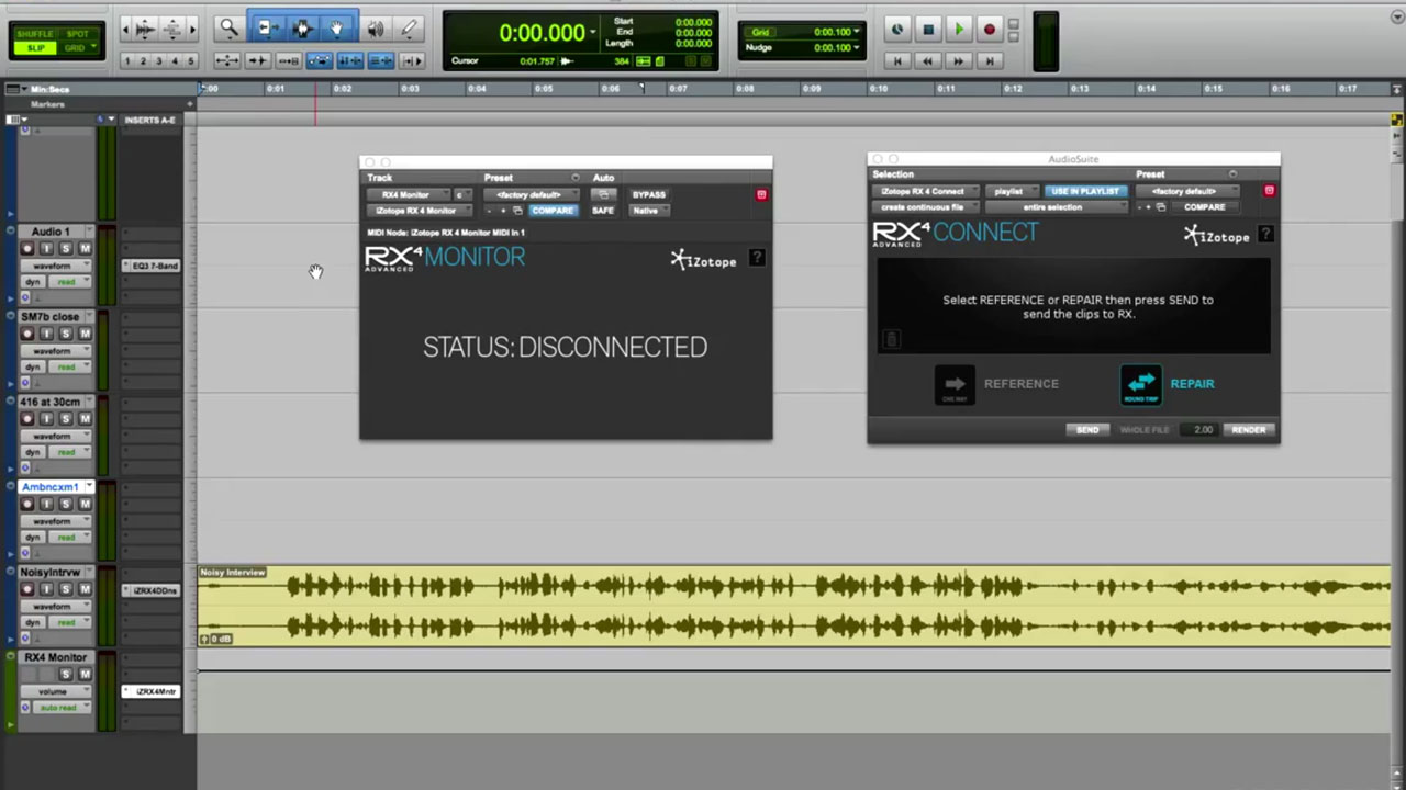 Using iZotope RX3 To Remove The Music From The Film Brief Encounter