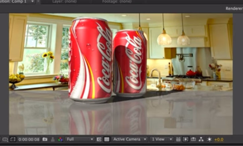 Workflow between LightWave and After Effects #lightwave3d