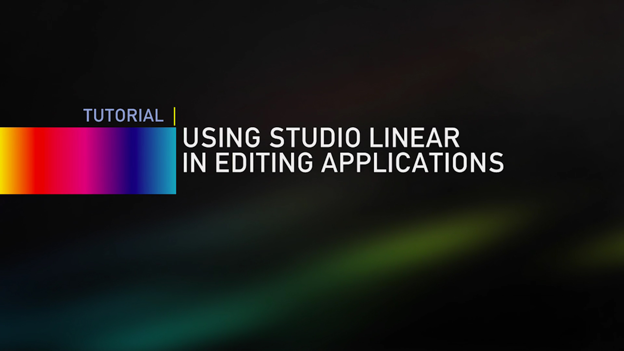 LookLabs: Using SpeedLooks Studio Linear in Editing Applications #looklabs