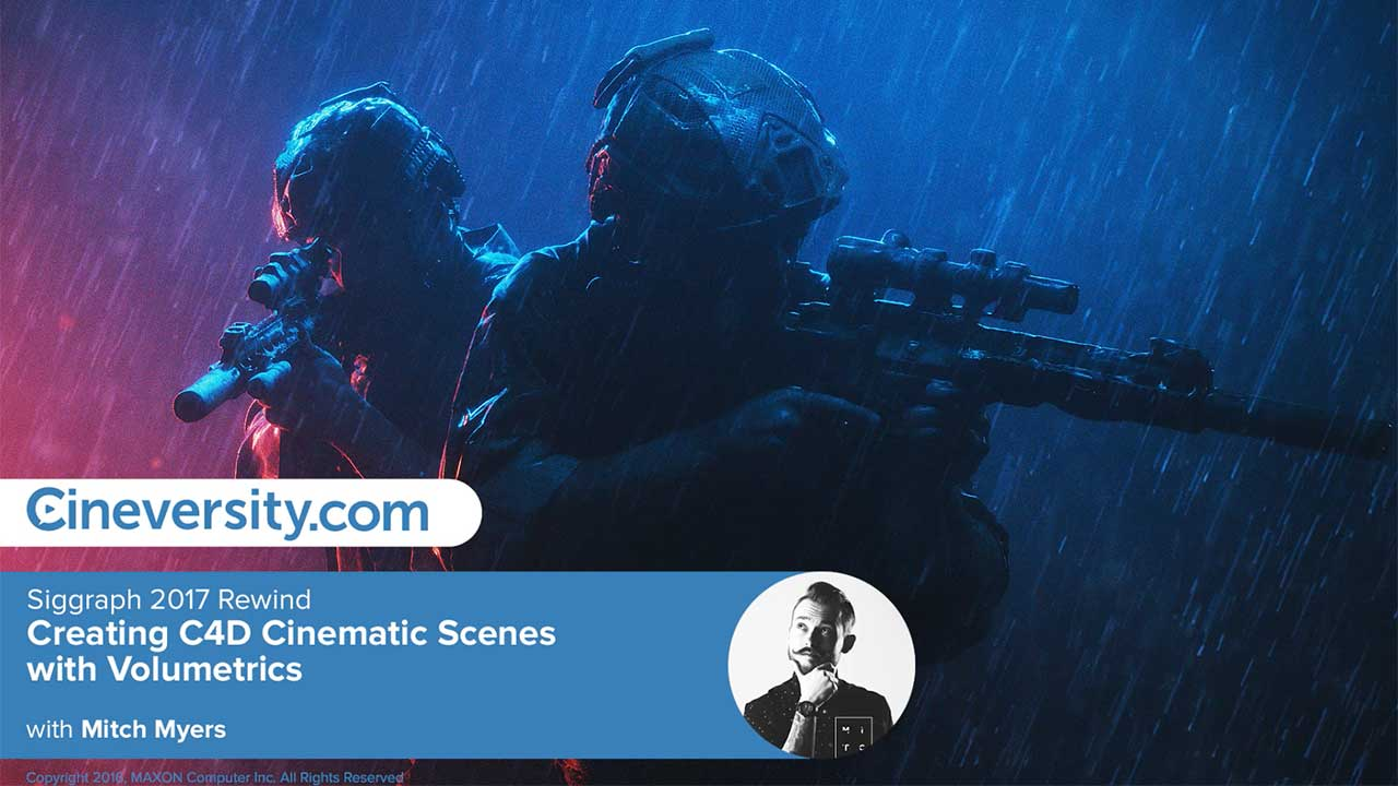 Creating C4D Cinematic Scenes with Volumetrics